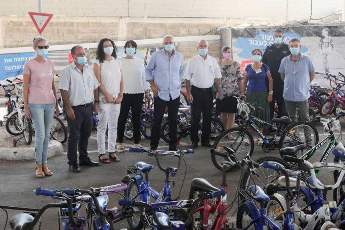 שופטי תחרות בטיחות בדרכים במרחב המוניציפלי ביקרו בנתניה