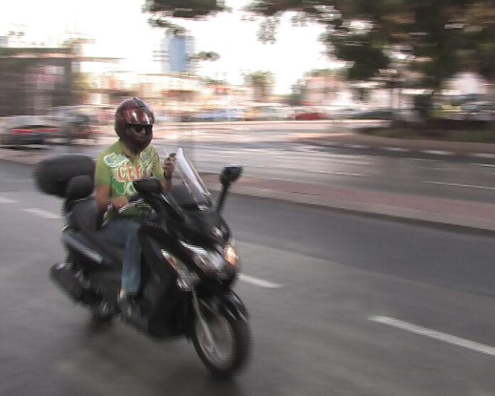 רוכבי אופנוע צעירים - בסיכון הגבוה ביותר להיפגע בתאונת דרכים. הנתונים בנתניה מראים זאת.