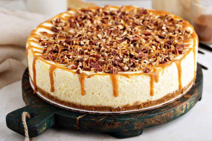 מתכון לעוגת גבינה עשירה בפקאן - מתוך המדור נתניה מבשלת וגם אופה מתכונים לשבועות