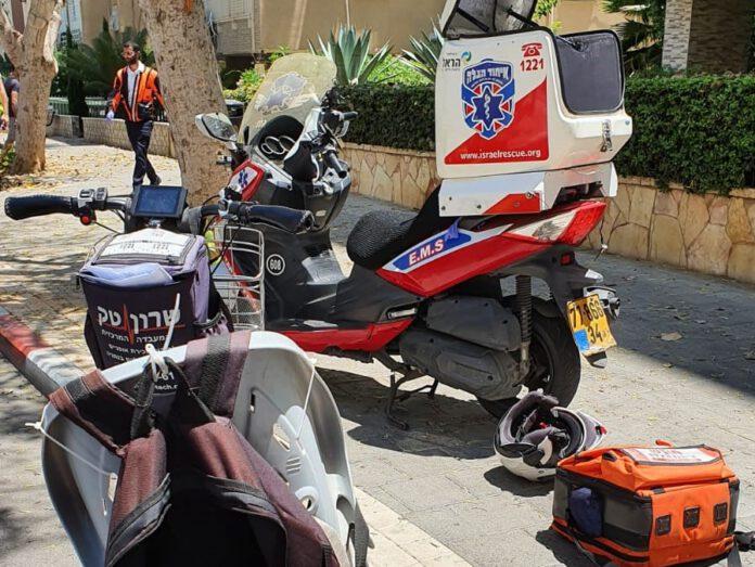 תאונת דרכים בנתניה. בת 65 נפגעה ברחוב סמילנסקי בעיר נתניה.